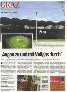 Slackline Stadion Liebenau